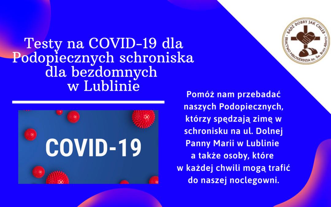 Zakup testów na COVID-19
