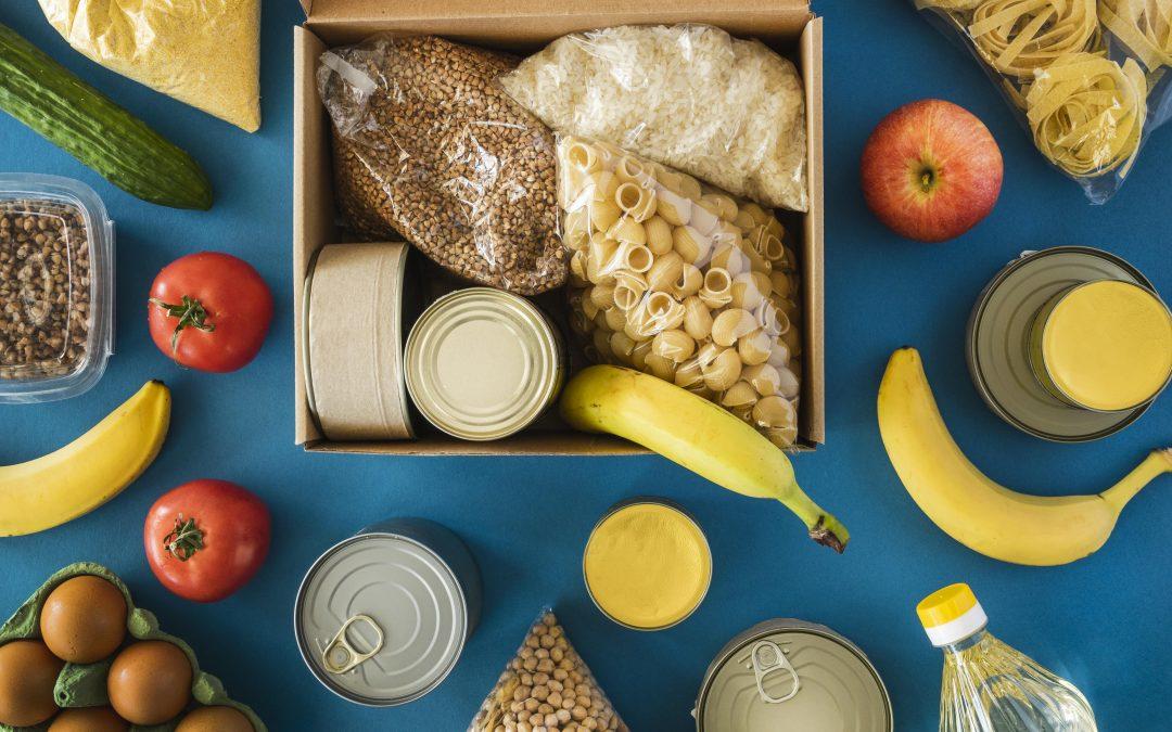 Paczki żywnościowe w ramach POPŻ